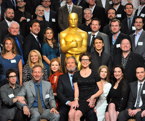 Say Cheese! Oscar Nominees Get Together For a Class Photo