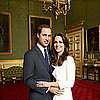 Picture of Prince William and Kate Middleton Made Out of Food