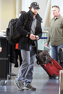 Pictures of Bradley Cooper Departing Out of LAX