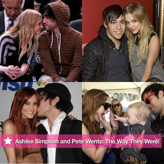 Ashlee Simpson and Pete Wentz: The Way They Were!