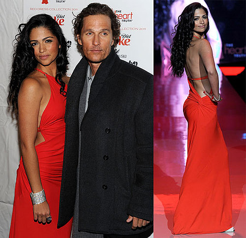 Pictures of Camila Alves, Julianne Hough, Denise Richards and Audrina Patridge at the Heart Truth's Red Dress Event