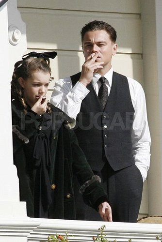 Pictures of Leonardo DiCaprio Filming J.Edgar in LA
