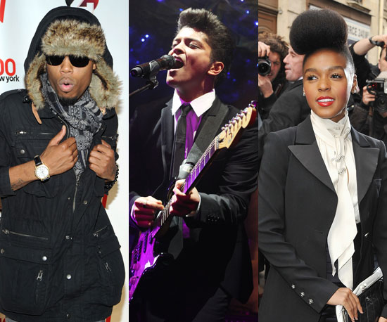 B.o.B, Bruno Mars and Janelle Monáe