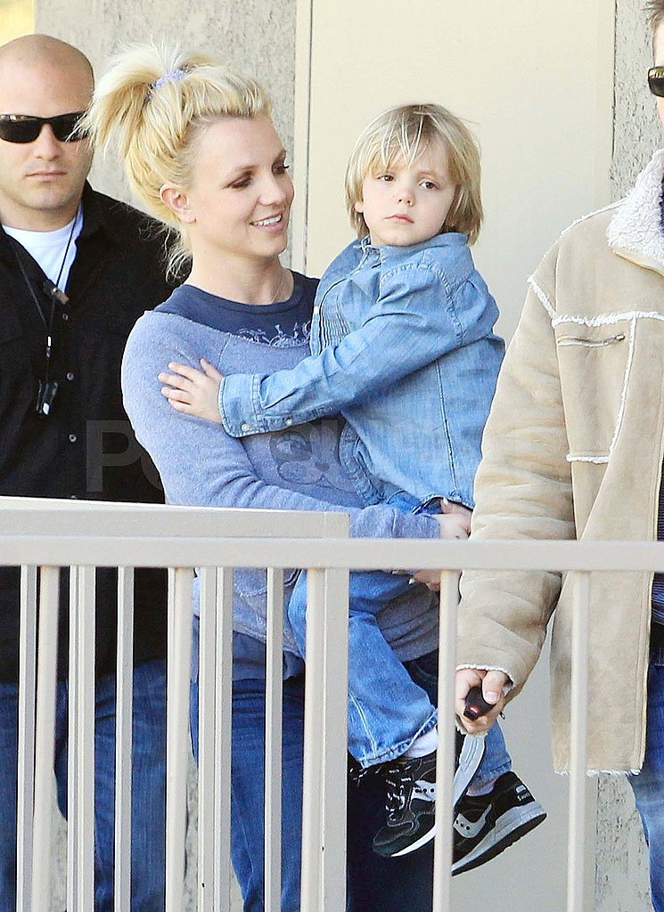 Britney Spears Breaks From Her Album For Her Karate Kid, Jayden