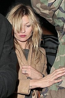 Pictures of Kate Moss Leaving the Groucho Club in London