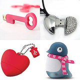 Cute V-Day Flash Drives
