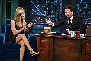 Pictures and Video From Jennifer Aniston on Late Night With Jimmy Fallon