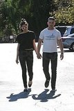Pictures of Shia LaBeouf Walking to Lunch With a New Girl