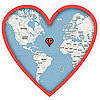 Google Maps Valentine&#039;s Day Ecards