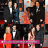 Pictures of Couples at BAFTAs 2011 Including Bonnie Wright, Jamie Campbell Bower, Aaron Johnson, and Sam Taylor-Wood