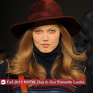 The Best Looks From Day Six of 2011 Fall New York Fashion Week