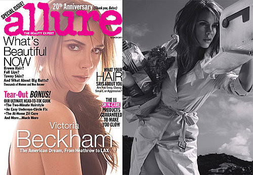 Pictures of Victoria Beckham in 2011 Allure Magazine
