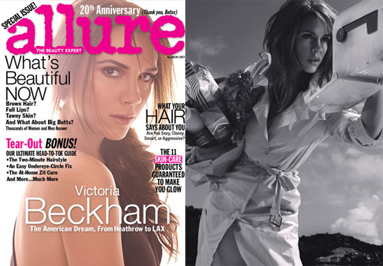 "Victoria Beckham Talks Exercise, Her Happy Home Life, and Feeling ""Really Content"" in Allure"