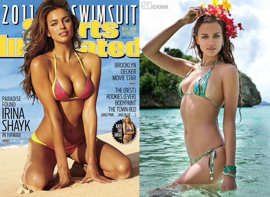 Irina Shayk Unveiled as the 2011 Sports Illustrated Cover Girl!