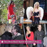 Pictures of Celebrities Celebrating Valentines Day