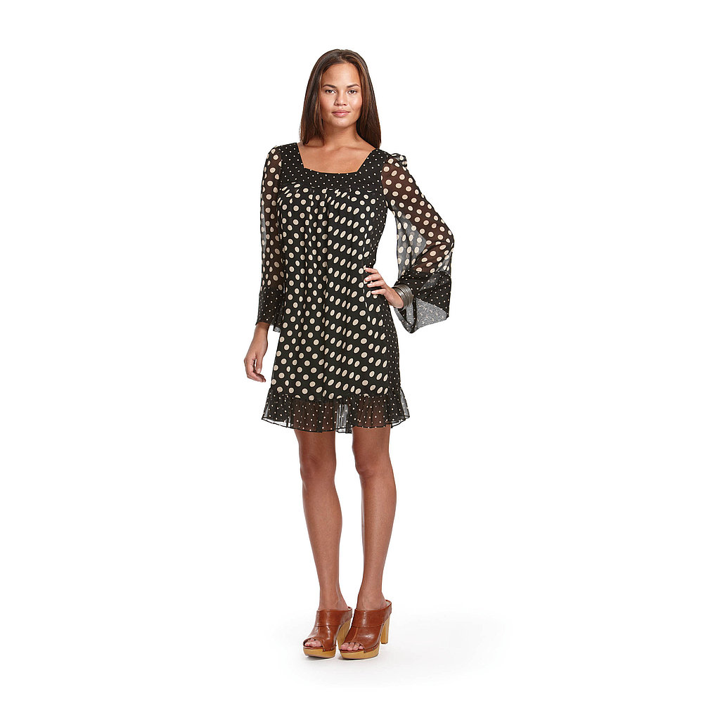 Jovovich-Hawk For Target Chiffon Dot Print Dress ($40)