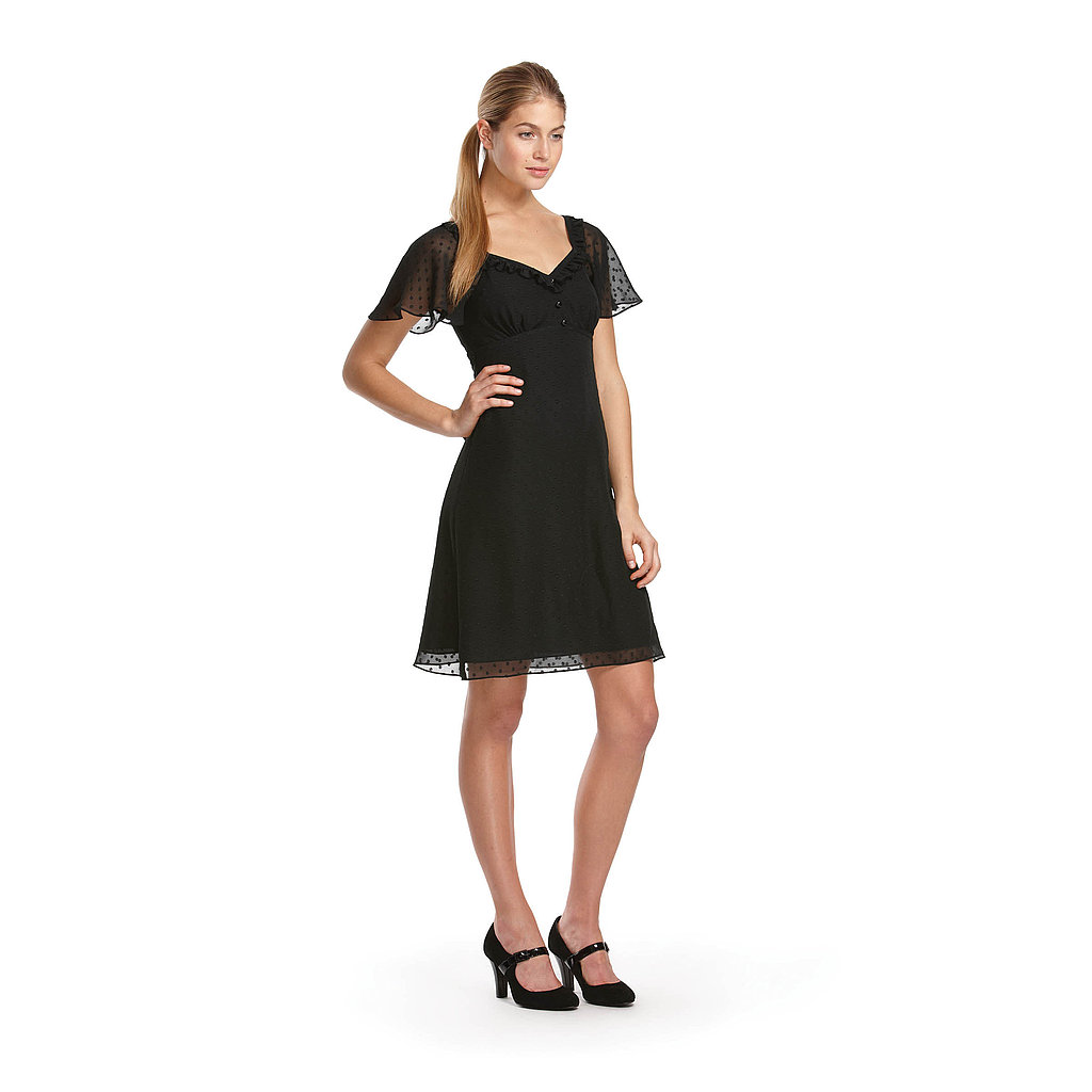 Alice Temperley For Target Swiss Dot Chiffon Dress ($40)