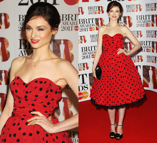 Photos of Sophie Ellis Bextor at 2011 Brit Awards