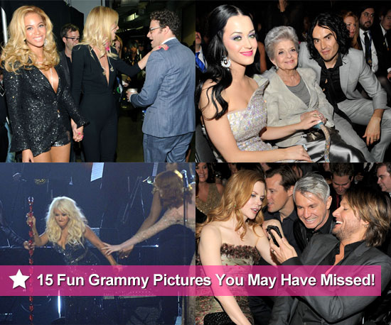 15 Fun Grammy Award Pictures You May Have Missed!