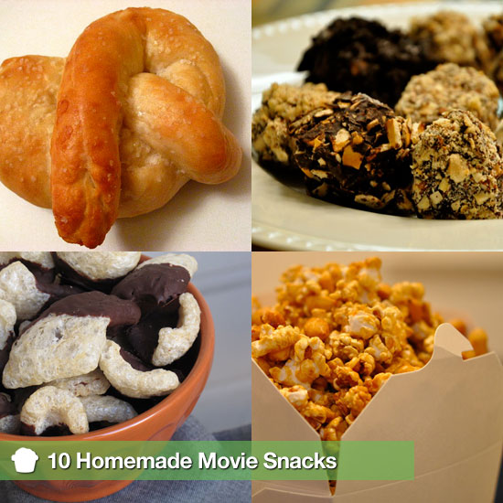 10 Homemade Movie Snacks