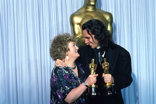 Brenda Fricker and Daniel Day-Lewis, 1990.