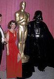 Natalie Wood and Darth Vader, 1978