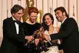 Daniel Day-Lewis, Tilda Swinton, Marion Cotillard, Javier Bardem, 2008.
