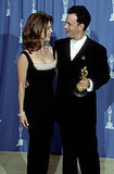 Rita Wilson and Tom Hanks, 1995.