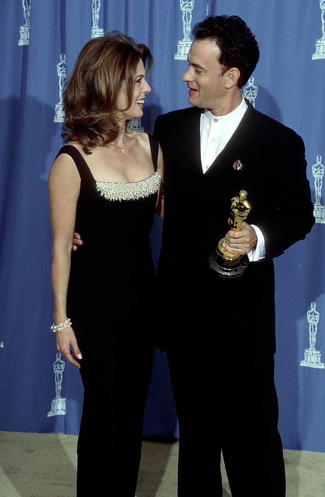 Rita Wilson and Tom Hanks, 1995.