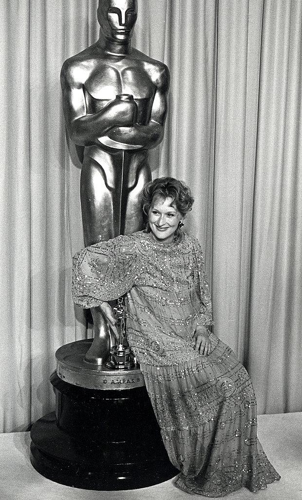 Meryl Streep, 1983.