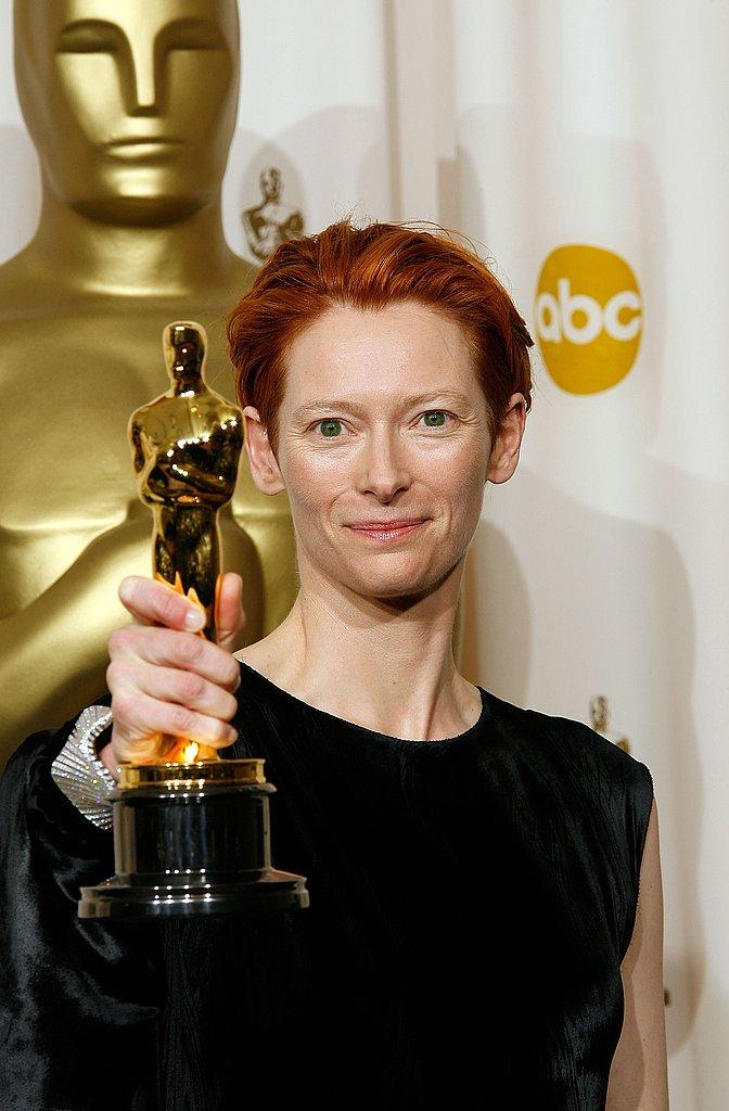 Tilda Swinton, 2008.