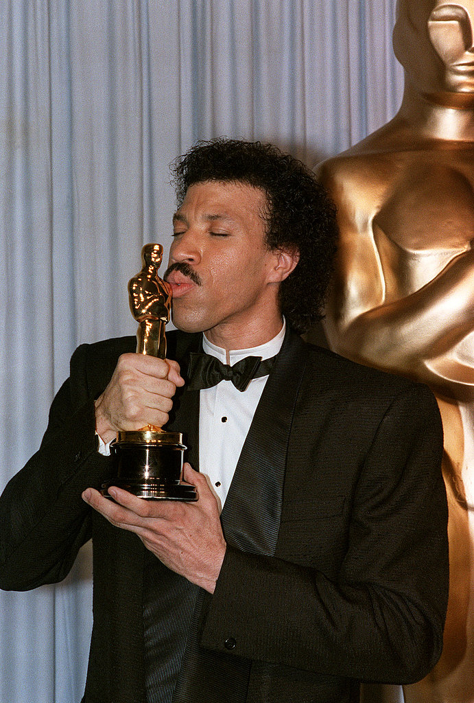 Lionel Richie got that lovin' feeling after winning best original song in 1986.