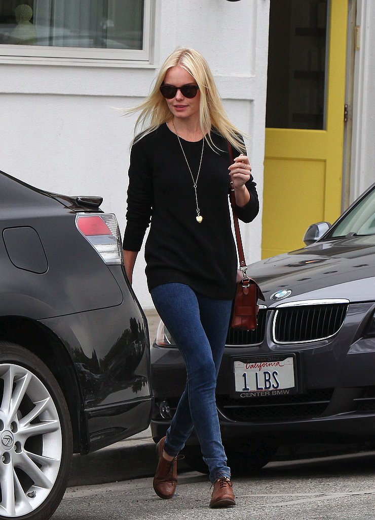 Pictures of Kate Bosworth Going to the Salon in LA
