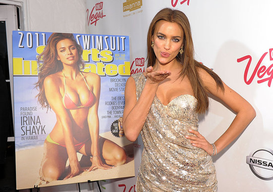 Irina Hosts a Party to Celebrate Her Swimsuit Issue Cover With Brooklyn, Chrissy, and More