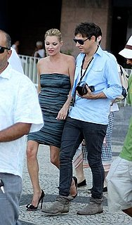 Pictures of Kate Moss and Jamie Hince Taking an Adventure in Rio