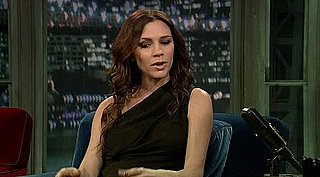 Video of Victoria Beckham on Late Night With Jimmy Fallon Talking About Babies and Fashion