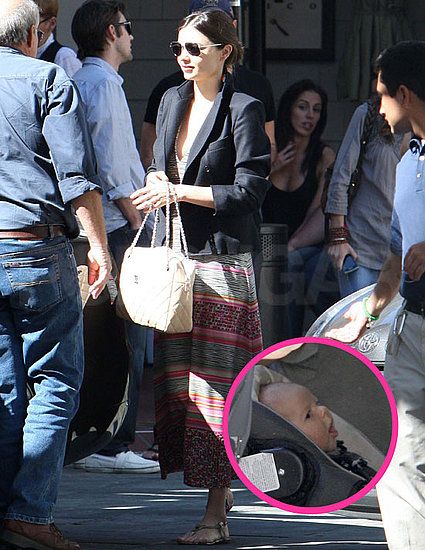 Pictures of Miranda Kerr After Baby With Orlando Bloom and Flynn