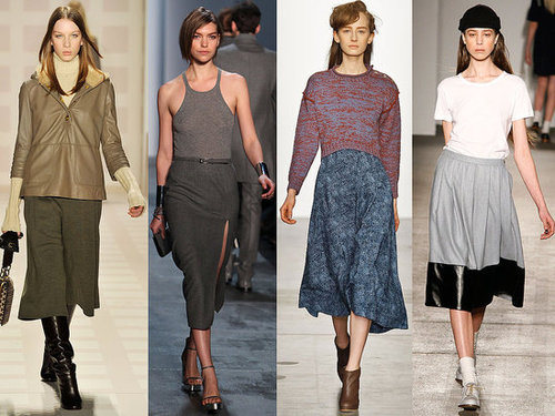 Fall 2011 Trend: Calf-Length Skirts