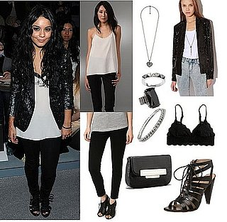 Vanessa Hudgens Style at New York Fashion Week