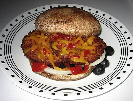 Design a Slightly Saucy Mushroom Burger