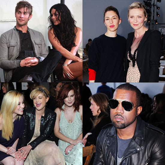 Stylish Celebs Chat in the Front Row at NYFW