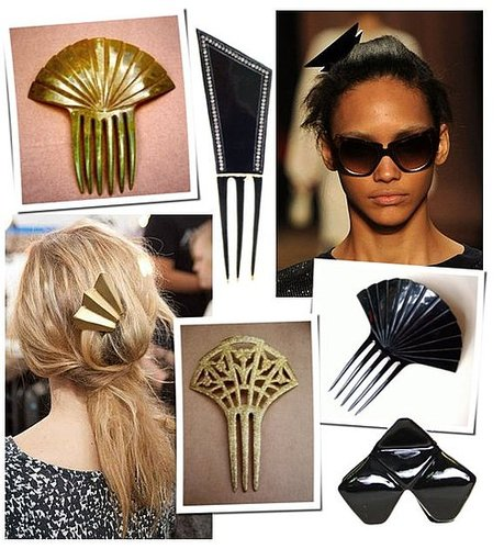 Art Deco Hair Trend at Fall 2011 New York Fashion Week