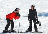Pictures of Megan Fox and Jon Hamm Skiing on the Set of Friends With Kids