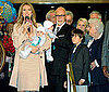 Pictures of Celine Dion and Rene Angelil at Caesars Palace With Twins Nelson and Eddy