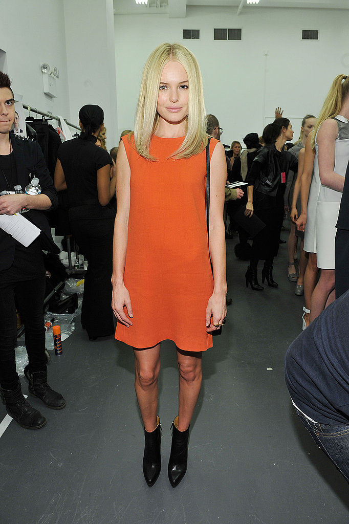 Kate Bosworth Front Row at Calvin Klein