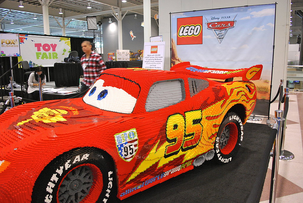 Life-Size LEGO Lightning McQueen