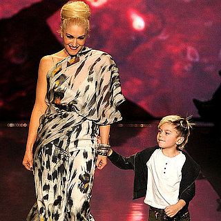 Pictures of Gwen Stefani and Kingston Rossdale Following Her 2011 Fall L.A.M.B. Show