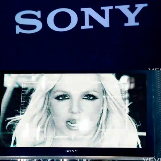 Showing Sony TV and Logo