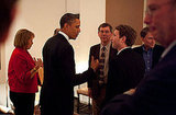 President Obama Meets With Tech Elite in Woodside
