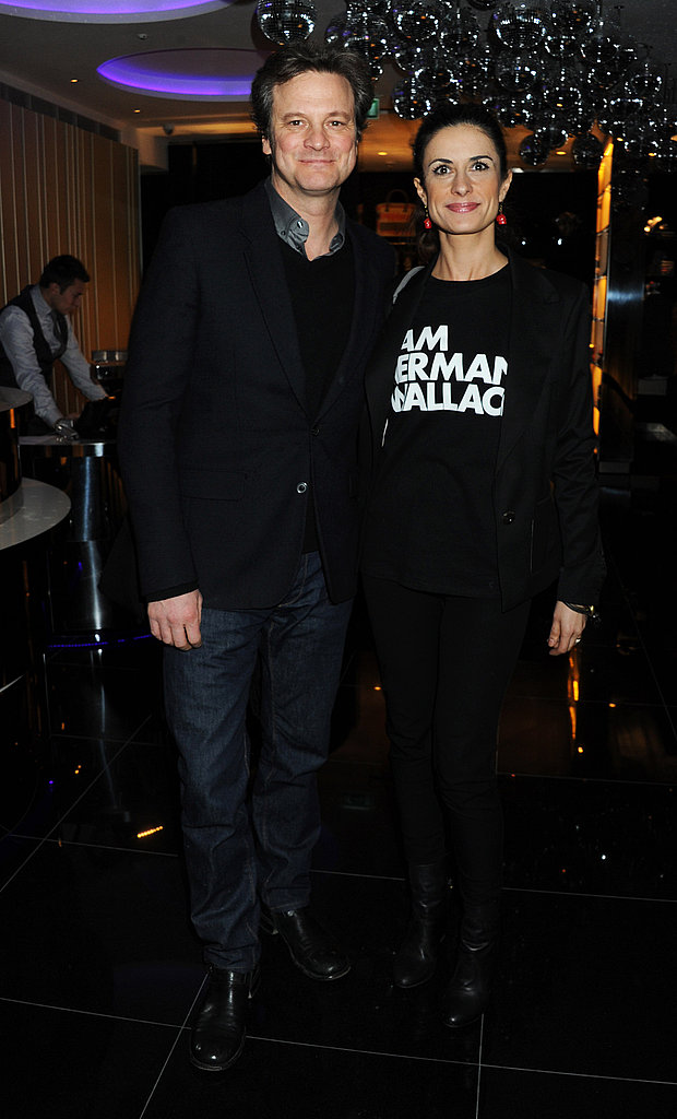 Pictures of Colin Firth and Wife Livia Giuggioli at Vogue Party